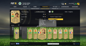 FIFA 15 coins trading